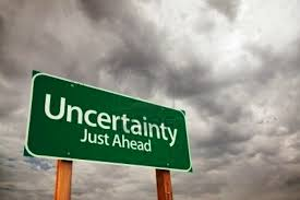 life is full of uncertainty :)